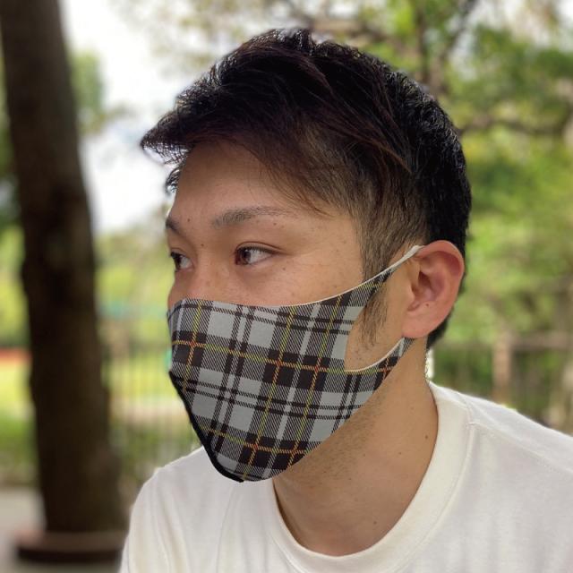 抗菌加工、洗濯可能、優れた伸縮性、3Dデザインのファッションマスク「FM-10ファッションマスクL」