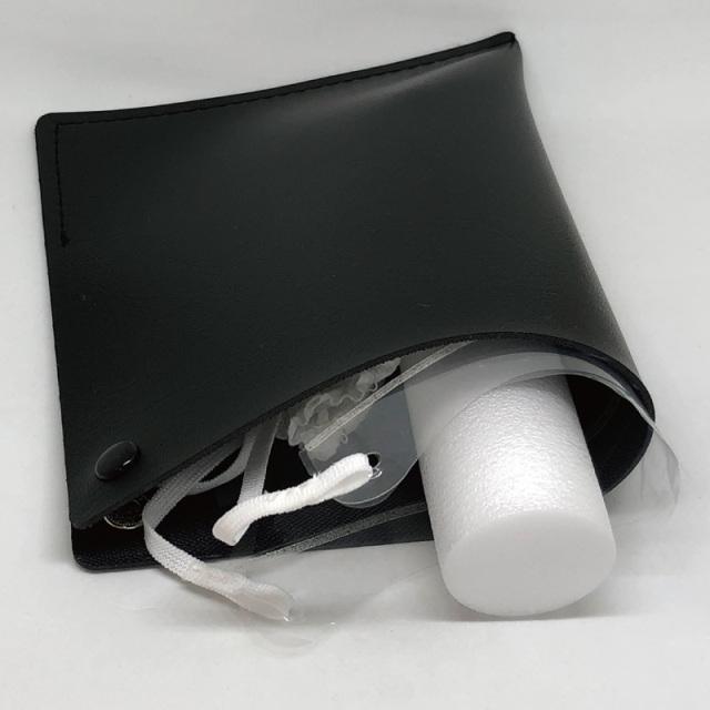 表情を隠さない防曇透明マスク「ルカミィ(Lookatme)専用ケースセット」