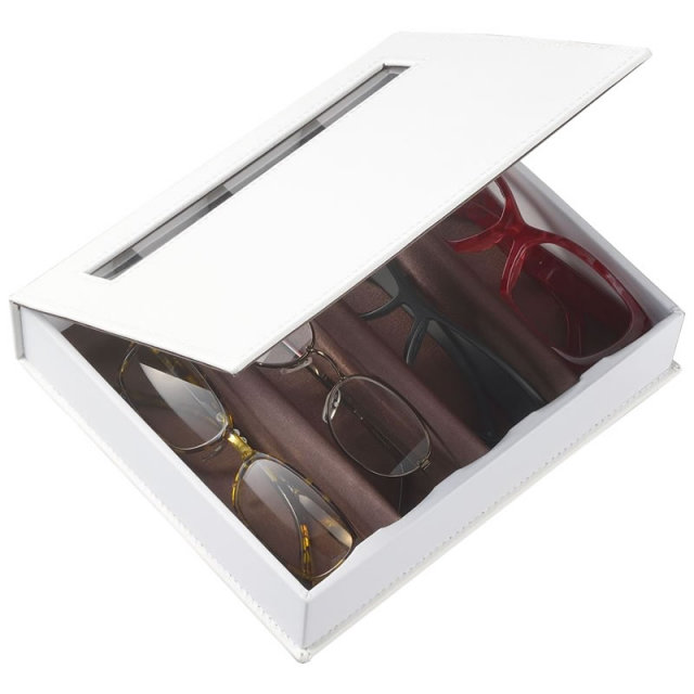 めがねの整理やコレクションボックスとして利用できるおしゃれなメガネケース(眼鏡ケース)OPT-BOX-4 「オプトボックス4」