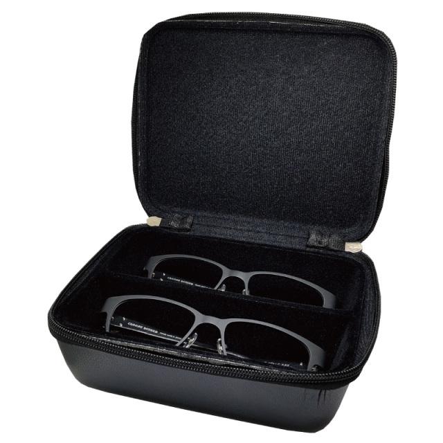 めがねの整理やコレクションボックスとして利用できるおしゃれなメガネケース(眼鏡ケース)T-2 EVA OPT-BOX-2 L