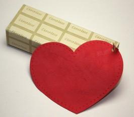 【バレンタインセット】【折り畳み】チョコレート型メガネケース(眼鏡ケース)U-D147 ホールディングケース チョコレート セット