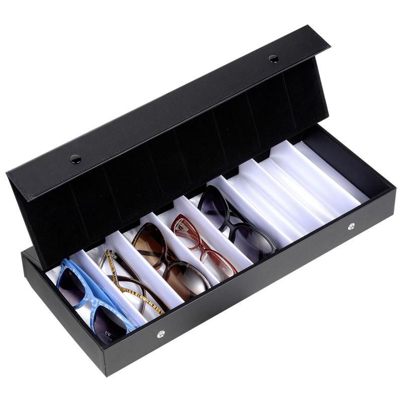 めがねの整理やコレクションボックスとして利用できるメガネケース(眼鏡ケース) T-8 OPT-BOX-8