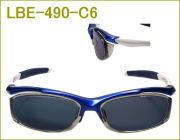 度付きスポーツサングラス、近視、乱視、遠視にも対応の眼鏡レンズセット
