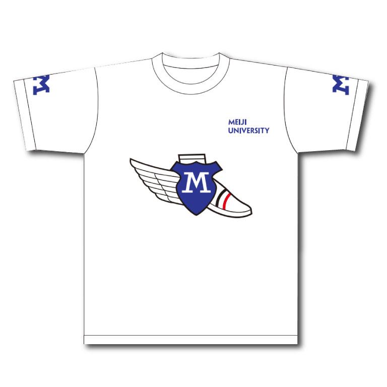 ◇競走部Tシャツ02 白M(J)