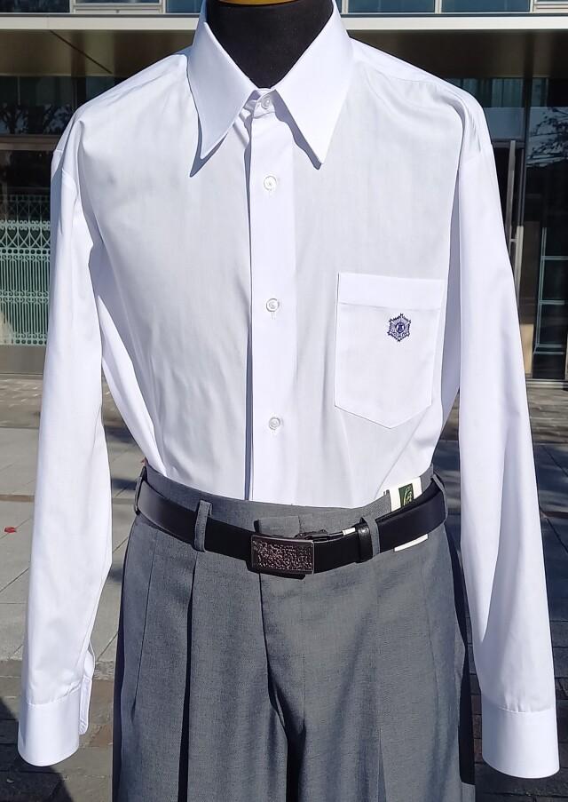 ●中 高校 長袖Yシャツ 5L(47-90)