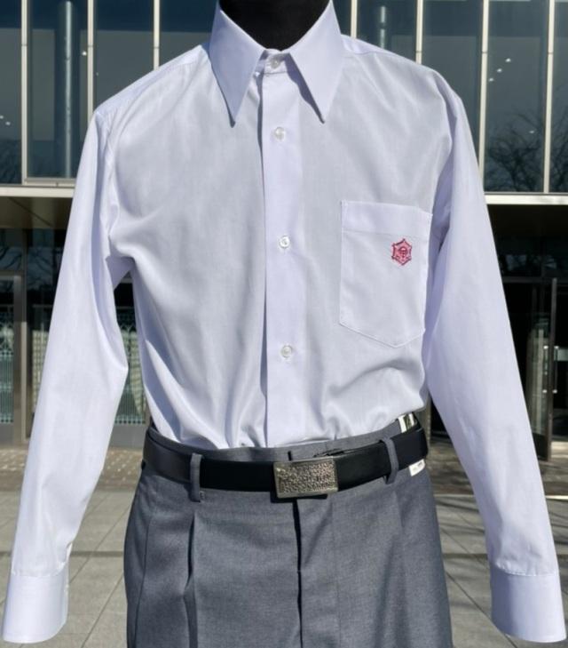 ●中  中学 長袖Yシャツ 5L(47-90)
