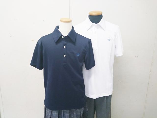 ●八 ポロシャツ 紺 M
