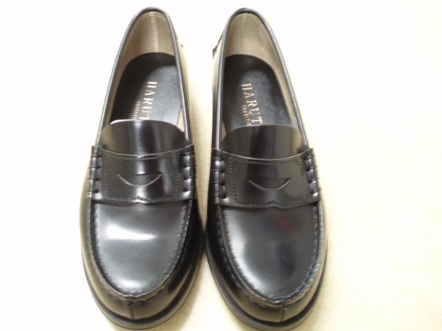 明 通学用革靴 男子用ローファータイプ 24cm