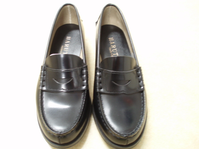 ●明 通学用革靴 男子用ローファータイプ 29cm