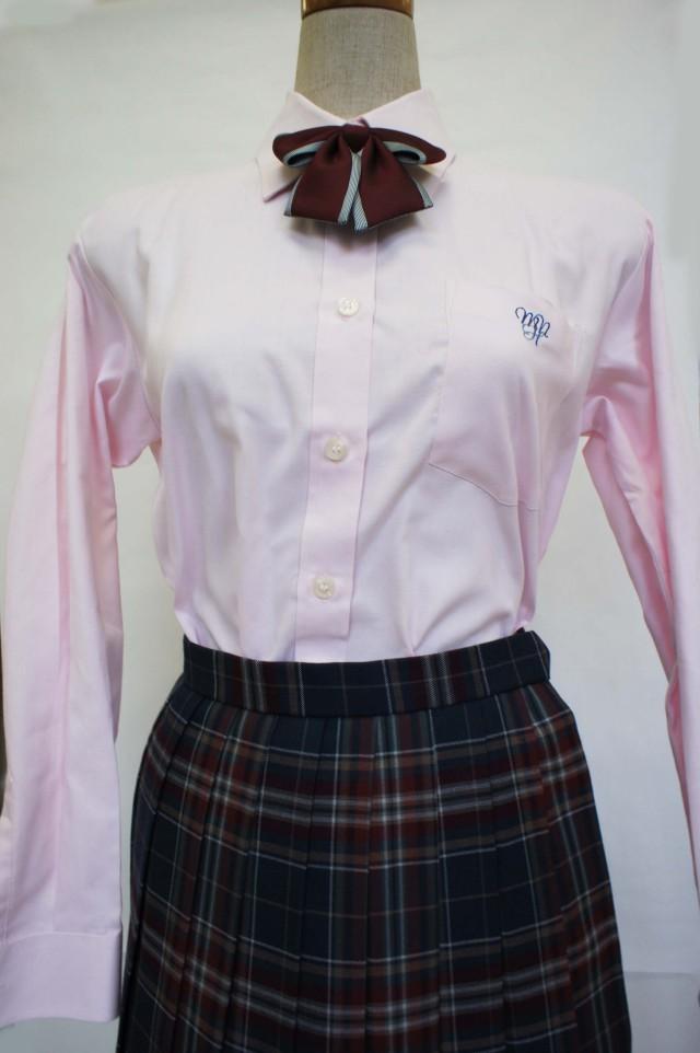 八 長袖ブラウス ピンク EL