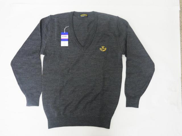 中  セーター 紺 (別寸) 5L