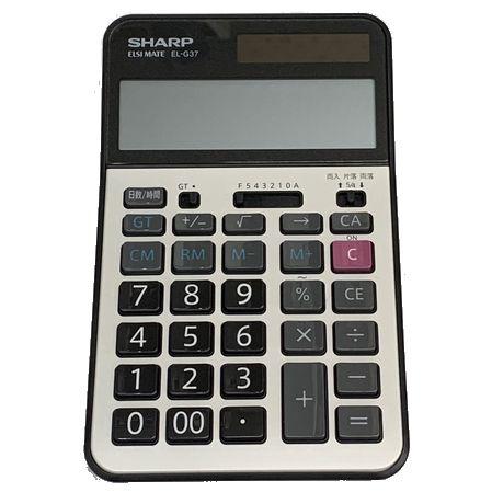 ●【学校用電卓】 SHARP EL-G37