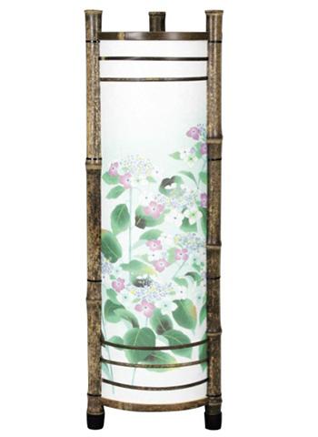 提灯 紫陽花