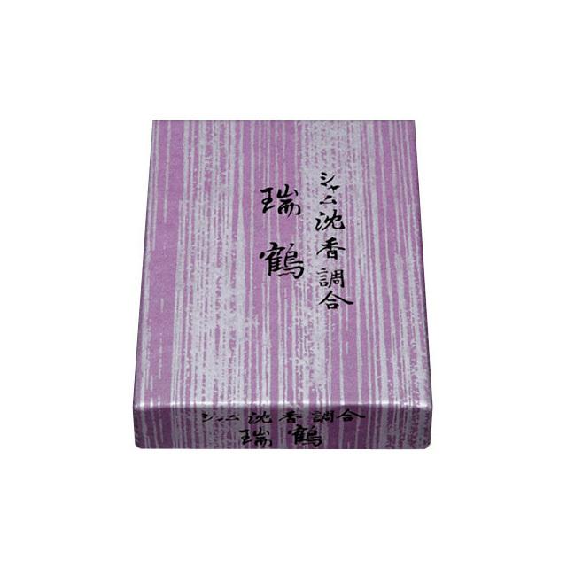 香貴 法要香 御焼香(シャム沈香調合 瑞鶴)10g(香炭入)
