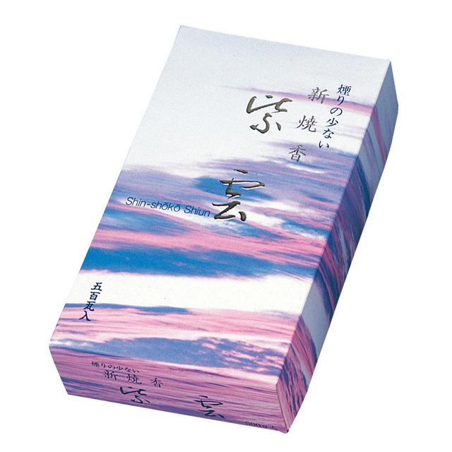 煙の少ない新焼香 紫雲 30g