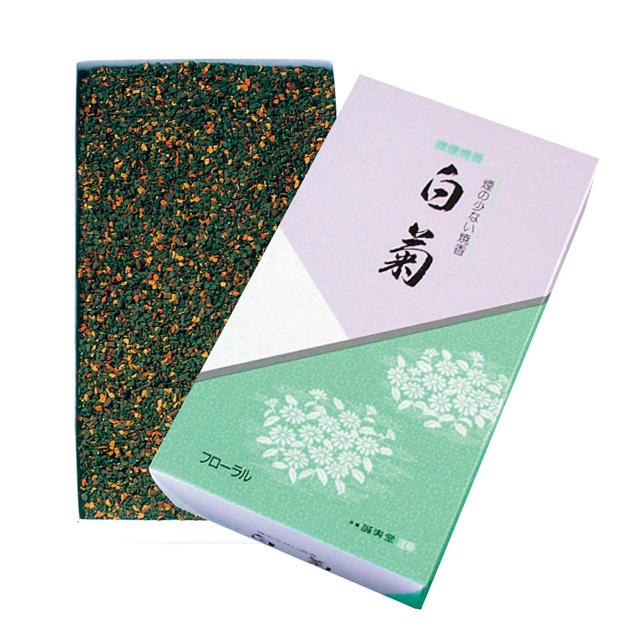 微煙焼香 白菊 フローラル 125g