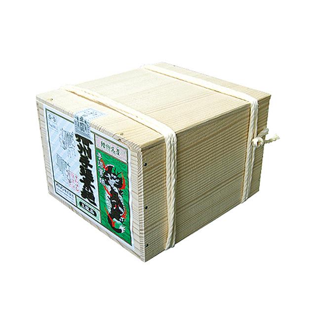 [S-5]播州手延そうめん[月の輪] 上級品【赤帯】 4kg(80束)木箱縄掛