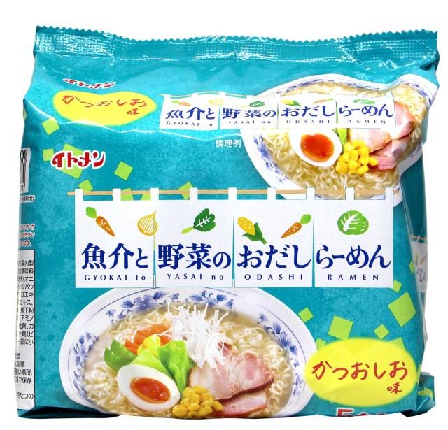 [th-17] おだしラーメンしお味5食パック