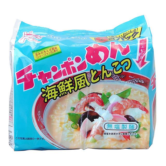 [th-02]チャンポンめん海鮮とんこつ 5食