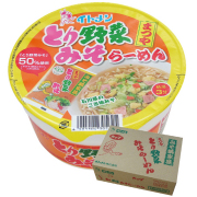 [C-30]カップとり野菜みそラーメン12個入 ※秋冬限定販売(ウエブ限定価格)