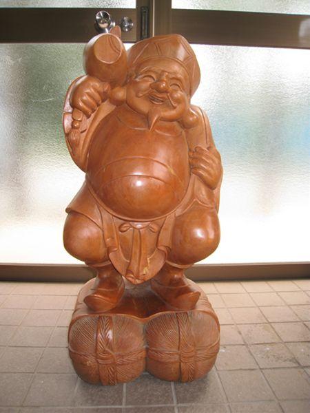 木彫り 大黒特特大