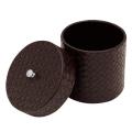 【TM-U】 トイレットペーパーケース(丸型筒状 蓋付き)