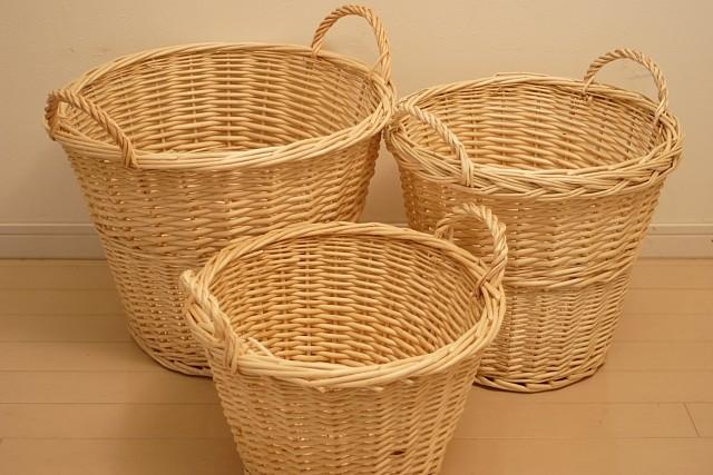 柳 ランドリーバスケット