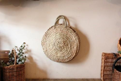 モロッコ サークルかごバッグ