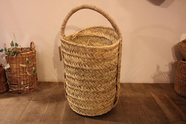 モロッコの水草ロングバスケット
