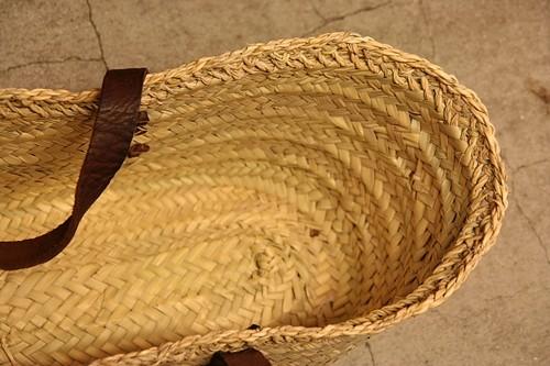 縁レース編み マルシェバスケット