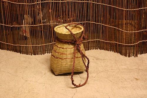 竹の魚ビクカゴ