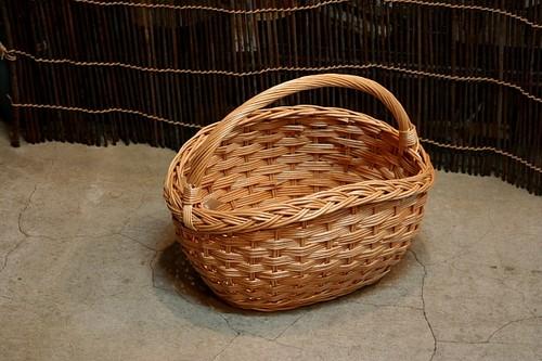 ウィッカー 柳バスケット
