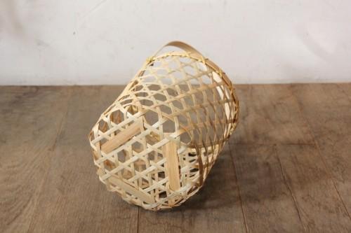 竹ワンハンドルバスケット