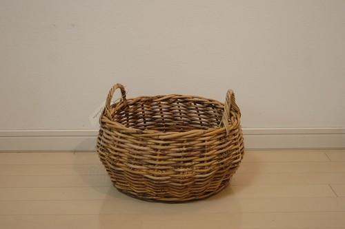アラログ手つき丸型バスケットL