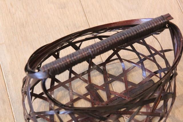竹 黒いワンハンドル