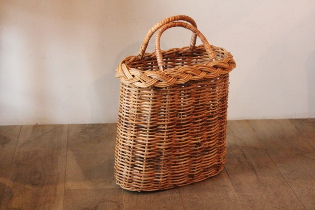 アラログ 三つ編みかごバッグ