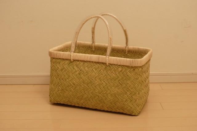 竹の市場かごL