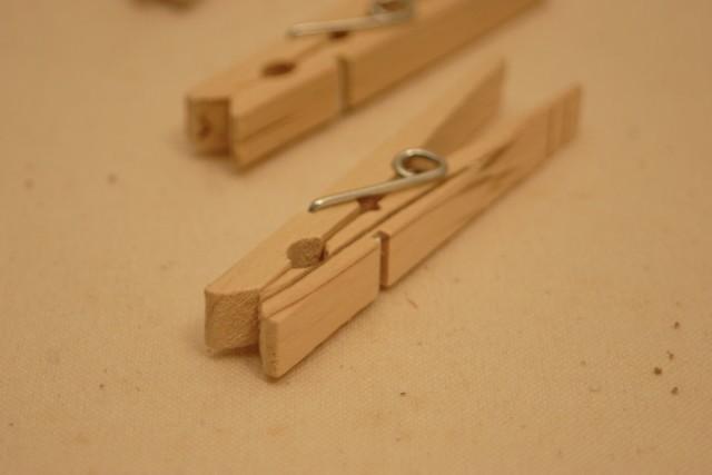 木製ウッドピン