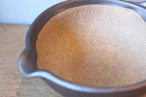 国産万古焼のミニ片口すり鉢