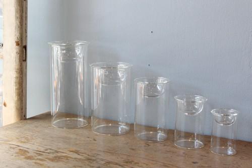 ガラスの水栽培フラワーベース