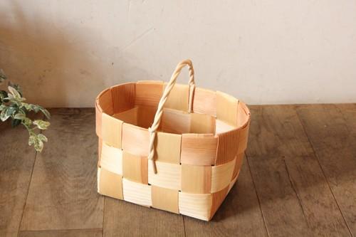もみの木バスケット