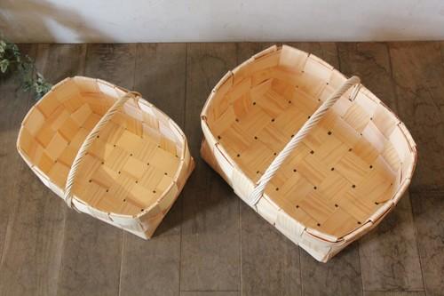 大きめのもみの木バスケット