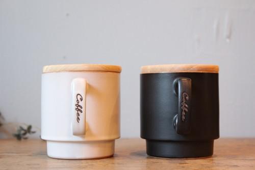 磁器のキャニスターマグカップ