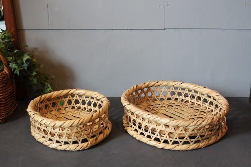 大分県別府の国産真竹高台椀かご