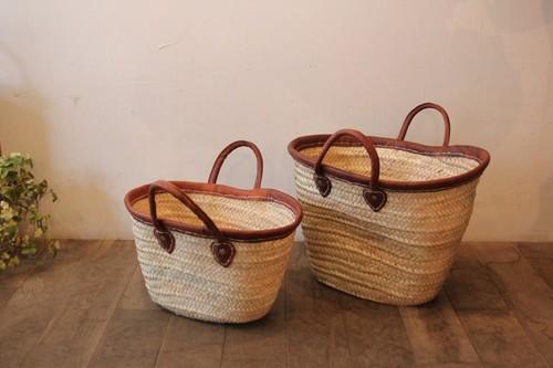 タザ椰子のマルシェバスケット