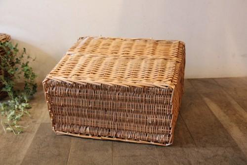 柳のピクニックバスケットショッパータイプ