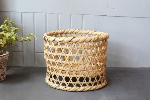 真竹の国産六つ目高台椀かご