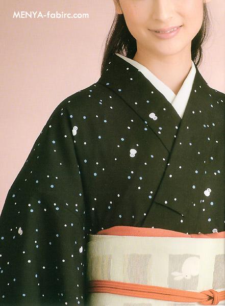源氏ウール小紋[No27]