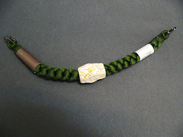 正絹 羽織紐「深緑」
