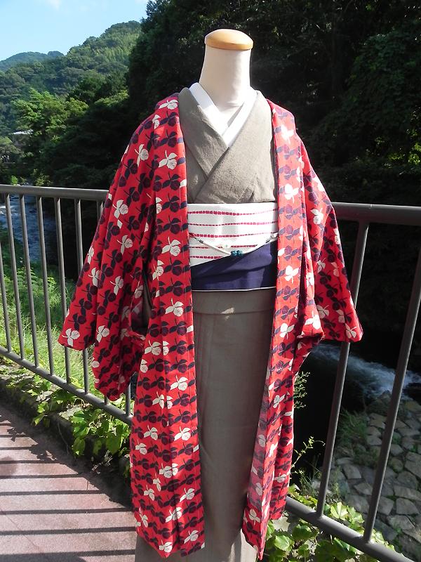 木綿羽織(ROSE)